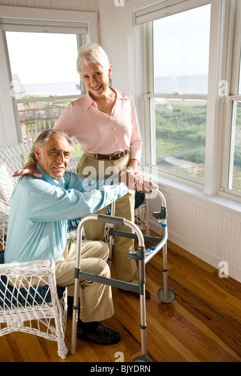 Sunroom Stock Photos amp Sunroom Stock Images Alamy : senior couple spending time in sunroom of home bjydrn from www.alamy.com size 347 x 540 jpeg 63kB