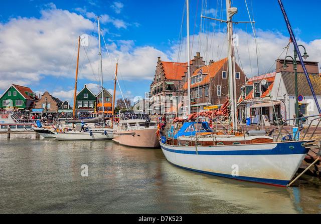 Volendam, Edam-Volendam, North Holland, Netherlands - Stock Image
