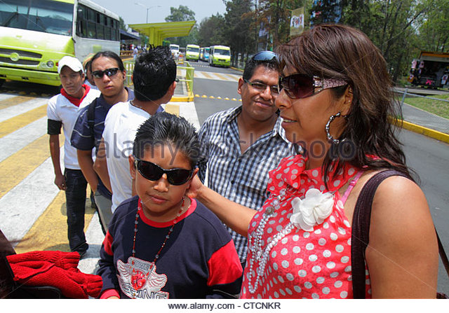 Mexico Mexico City DF D.F. Ciudad de México Federal District Distrito Federal Mexico City Metro Universidad - Stock Image