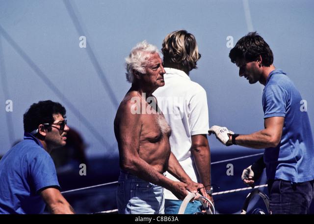Gianni Agnelli - Stock Image