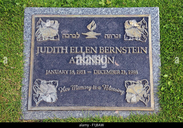 Lockerbie PanAm103 In Rememberance Memorial Judith Ellen Bernstein Atkinson of Jewish religion, Scotland - Stock Image