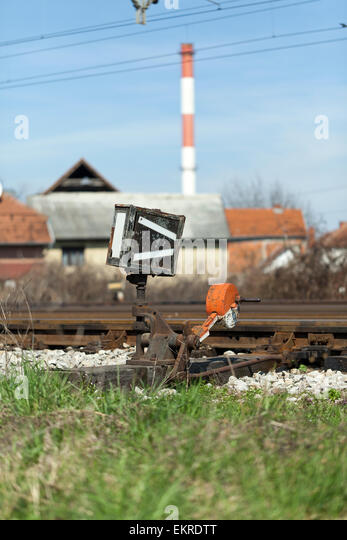 Change Lever For Trains : Lever switch stock photos images alamy
