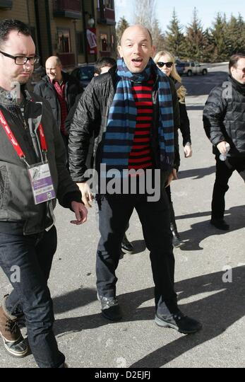 Paul Scheer out about Celebrity Candids Sundance Film Festival 2013 - MON Park City UT January 21 2013 Photo By: - Stock Image