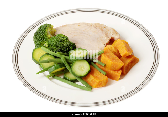 Healthy diet and vegetables fish stock photos healthy for Fish and veggie diet