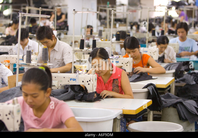 an analysis of the sweatshop labor and the workforce of china Labor rights and labor movements  with wages increasing in china,  companies promise customers that they do not use sweatshop labor in sotho clothes.