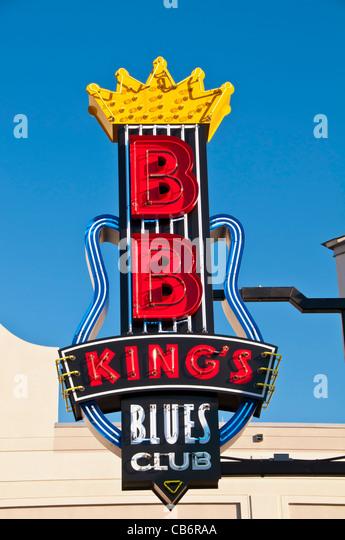 Orlando Florida, BB King's Blues Club at Pointe Orlando on International Drive I-Drive - Stock Image