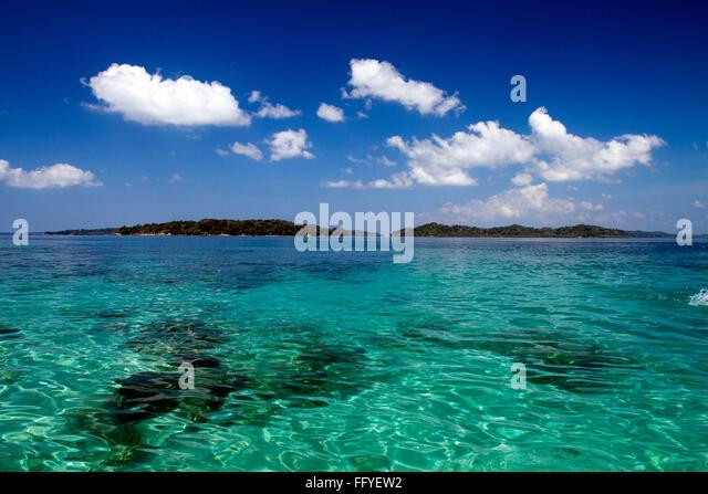 Jolly Buoy island near Wandoor Andaman India Asia - Stock Image
