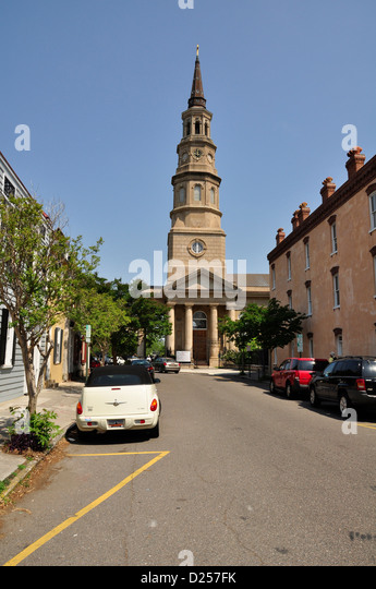 St. Peter's Episcopal Church - Stock Image