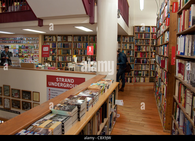 Strand Famous Bookstore on 828 Broadway, Manhattan (New York City) - Stock Image