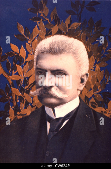 Portrait of Mr. Sonnino, in 'Le pays de France', 2-17-1916 - Stock Image
