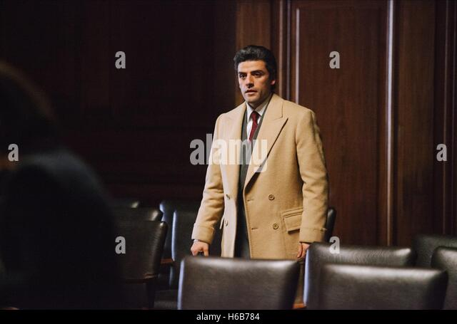 OSCAR ISAAC A MOST VIOLENT YEAR (2014) - Stock Image