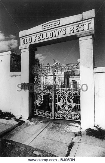 Cemetery Gates, New Orleans, USA - Stock-Bilder
