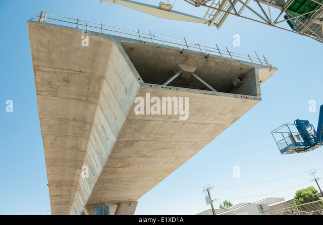 fragment view of the road under reconstruction - Stock Image