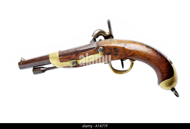 antique pistol - Stock-Bilder