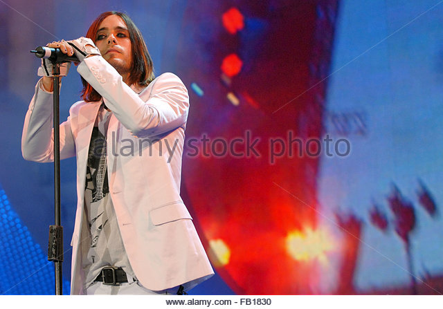 30 seconds to mars - Stock Image