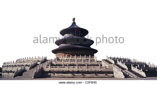 the Temple of Heaven - Stock Image