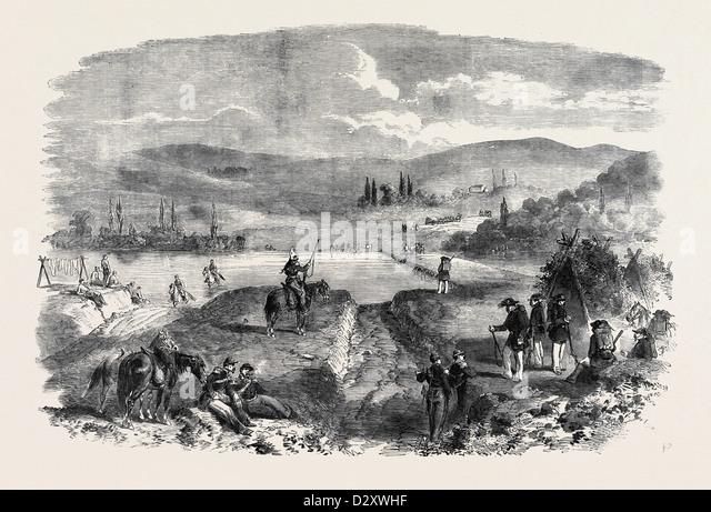 THE TCHERNAYA, IN THE CRIMEA - Stock Image