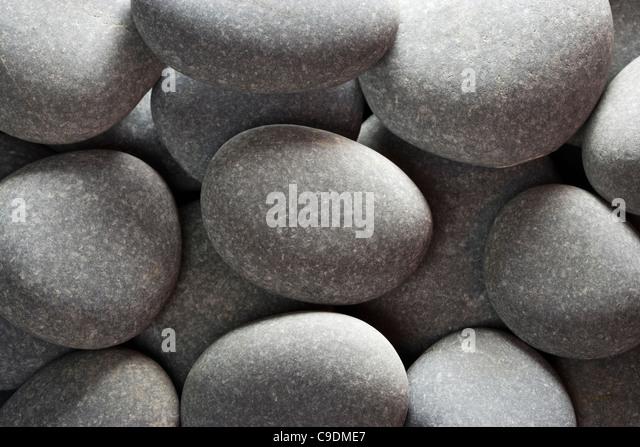 Pebbles (limestone). - Stock-Bilder
