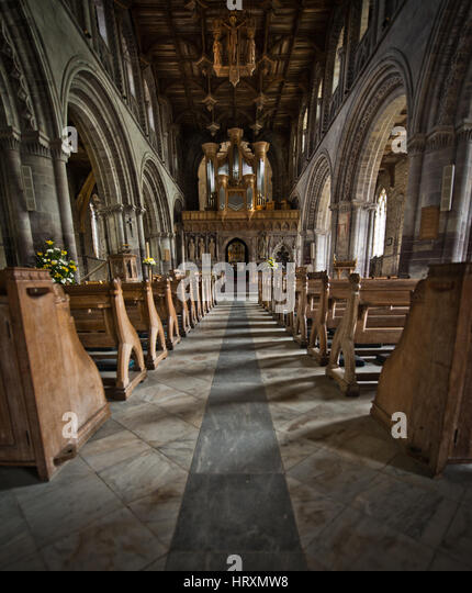 St Davids Cathedral - Stock Image