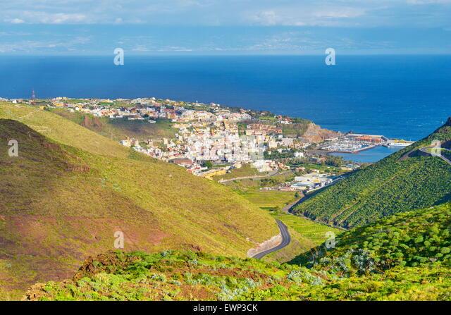 San Sebastian, La Gomera, Canary Islands - Stock Image