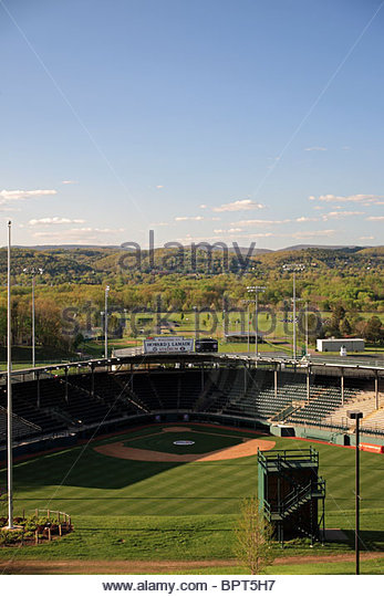 View of the Little League Baseball fields in South Williamsport, Pennsylvania, USA - Stock Image