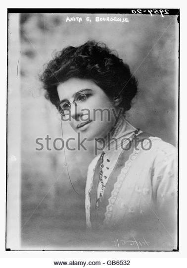Anita C. Bourgeoise - Stock Image