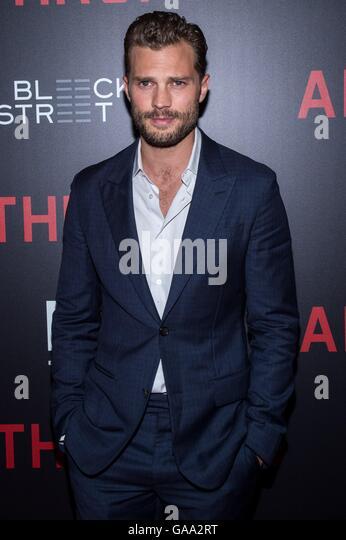 New York, NY, USA. 4th Aug, 2016. Jamie Dornan at arrivals for ANTHROPOID Premiere, AMC Loews Lincoln Square, New - Stock-Bilder
