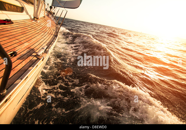 Sailing regatta - Stock Image