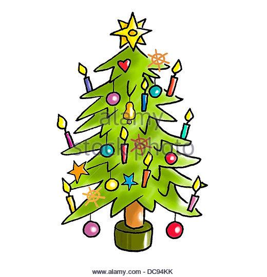 christmas tree 2 - Stock-Bilder