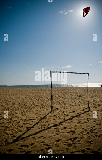Empty beach in Sri Lanka - Stock Image
