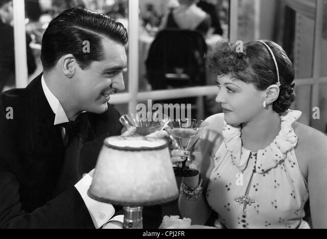 Cary Grant and Sylvia Sidney in 'The 30-day Princess', 1934 - Stock Image