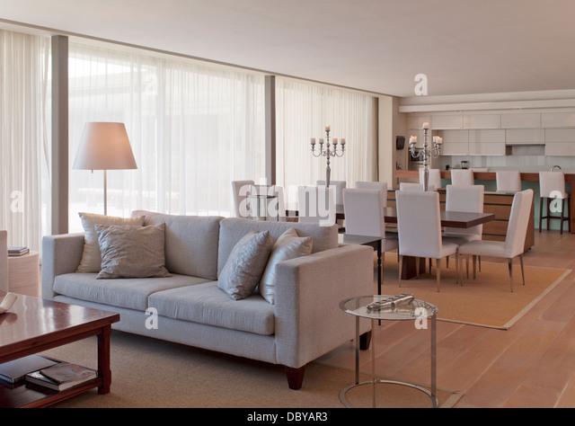 Luxury open plan - Stock Image
