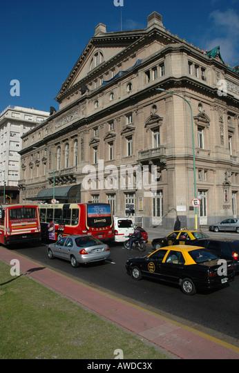 Teatro Colón at Avenida 9 de Julio, Buenos Aires, Argentina - Stock-Bilder