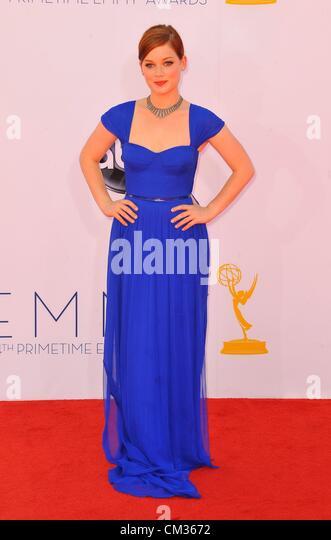 Jane Levy arrivals64th Primetime Emmy Awards - ARRIVALS Nokia Theatre L.A LIVE Los Angeles CA September 23 2012 - Stock-Bilder