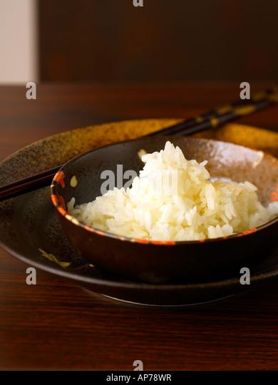 Sushi Rice Gohan - Stock Image