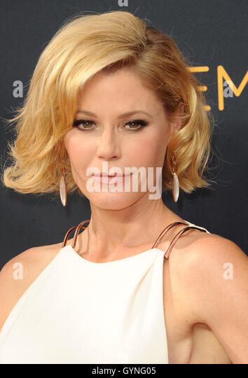 Julie Bowen at the 68th Annual Primetime Emmy Awards held at the Microsoft Theater in Los Angeles, USA on September - Stock-Bilder