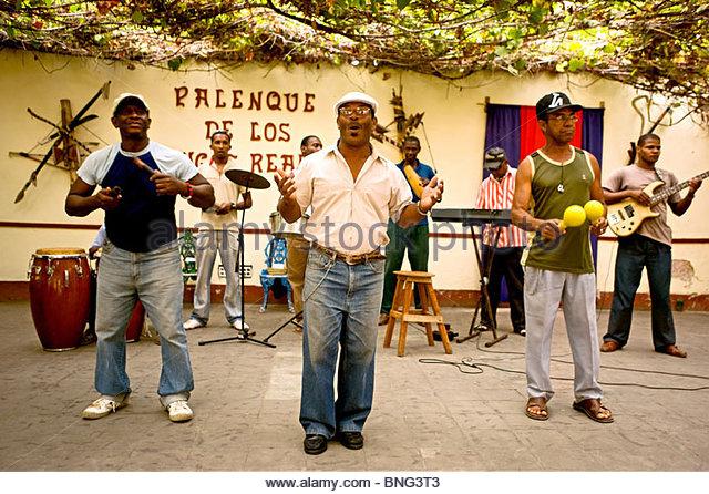 club palenque de los congos reales,trinidad,cuba - Stock Image