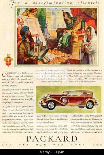 1930s Car Advert Stock Photos Amp 1930s Car Advert Stock