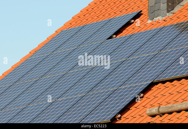 Environmentally friendly energy - Stock Image