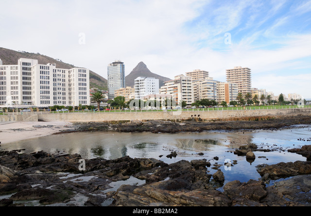 Green point Cape Town south Africa - Stock Image
