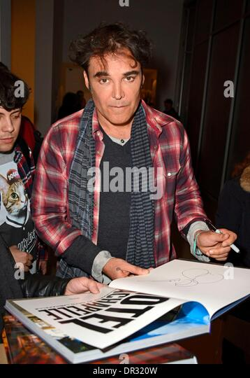 New York, NY, USA. 17th Jan, 2014. David LaChapelle at arrivals for David LaChapelle LAND SCAPE Exhibition Opening - Stock Image