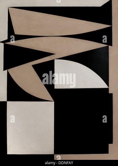 20th century  -  Zante, 1949 - Victor VasarelyPhilippe Sauvan-Magnet / Active Museum - Stock Image