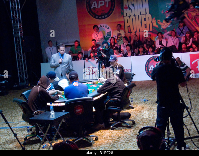 asian poker tournament