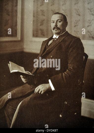 General the Right Honourable Louis Botha (1862-1919). - Stock Image
