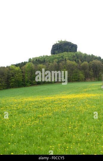 Zirkelstein, Schoena, Erhebung, - Stock-Bilder