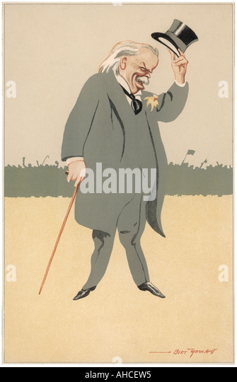 Lloyd George The World - Stock Image