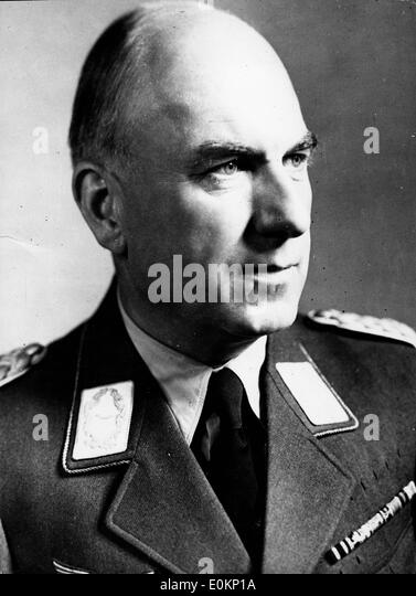 Jan. 01, 1942 -  Germany - File Photo: circa 1940s. A portrait of Nazi leader Dr. FRITZ TODT - Stock Image