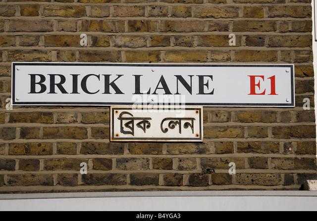 Brick Lane Stock Photos & Brick Lane Stock Images