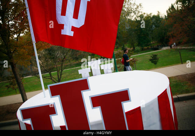 IU homecoming parade. (Photo by Jeremy Hogan) - Stock Image