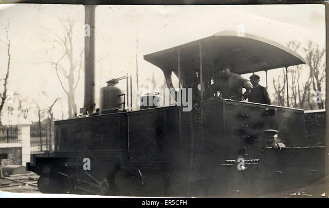Unknown Steam Locomotive, .  1910s - Stock Image